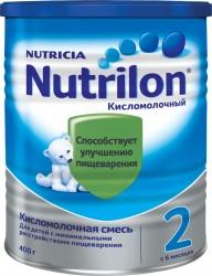 Смесь молочная, Нутрилон 400 г 2 Кисломолочный с 6 месяцев